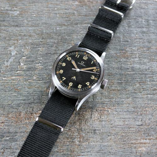 Omega 53 Thin Arrow Military Watch