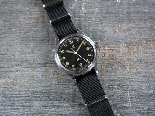 Omega 53 Thin Arrow Military Watch