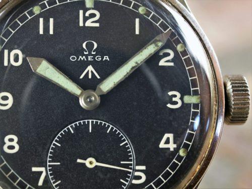 Military Omega WWW Dirty Dozen Watch