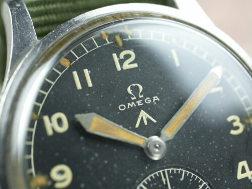 Omega WWW Dirty Dozen Military Watch