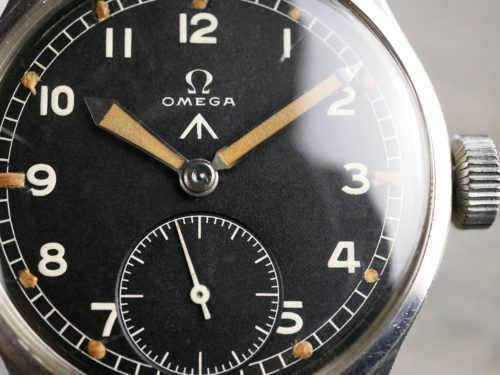 Military Omega WWW Dirty Dozen Watch