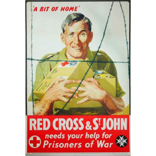 Red Cross St Johns Poster