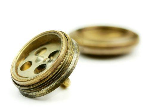 WW2 RAF Escape and Evasion Tunic Button Compass