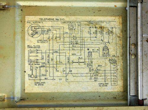 RAF Scampton Telephone Model 310