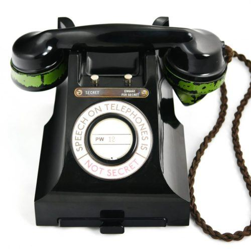 WW2 Scrambler Telephone