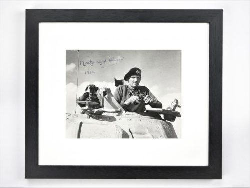 Signed Montgomery of Alamein Photo