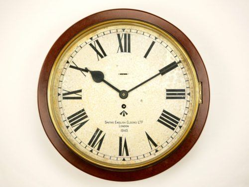 Smiths Army White Dial Clock