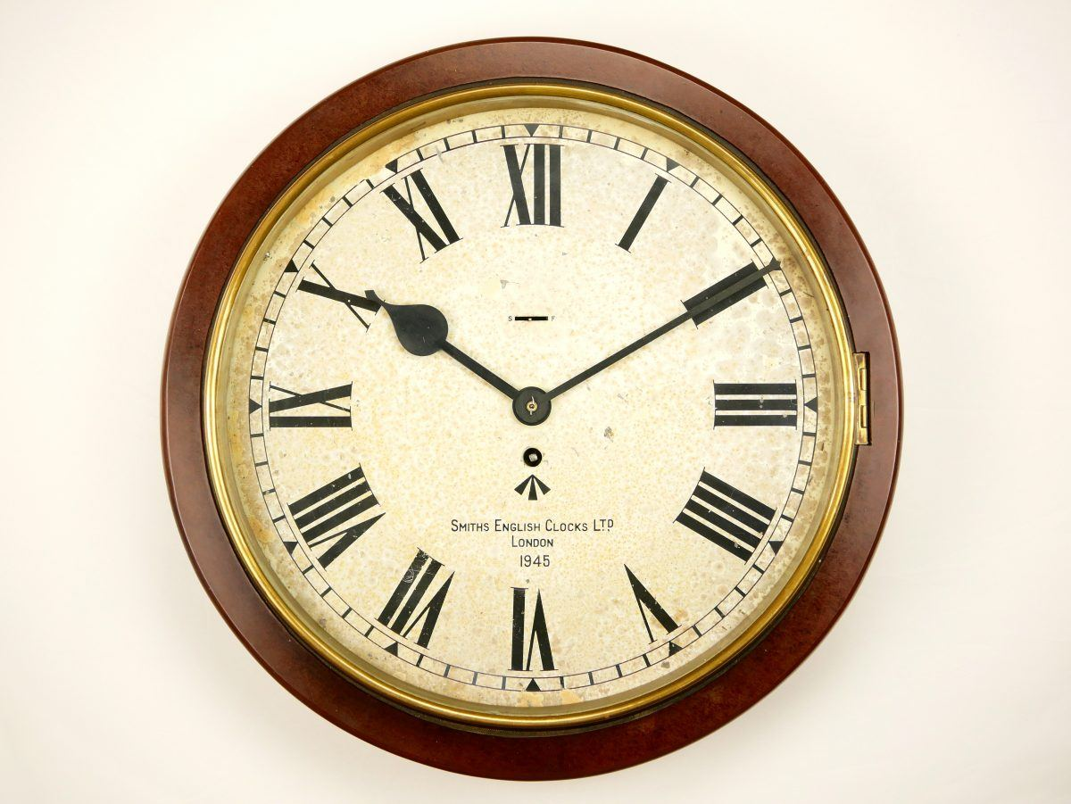 Smiths Army White Dial Clock For Sale Uk British Army