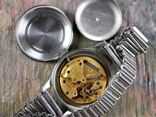 Smiths De Luxe GS Military Watch Movement