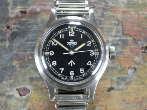 Smiths De Luxe GS Military Watch