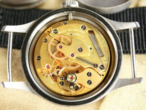 Military Smiths W10 1968 Watch Movement