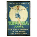 You Ought To Jump At It Territorial Army Poster