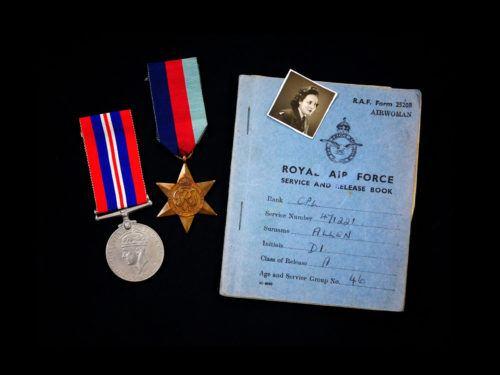 WW2 Medals & Service Book