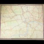 Vintage London Transport Map