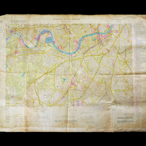 Luftwaffe Bombing Map